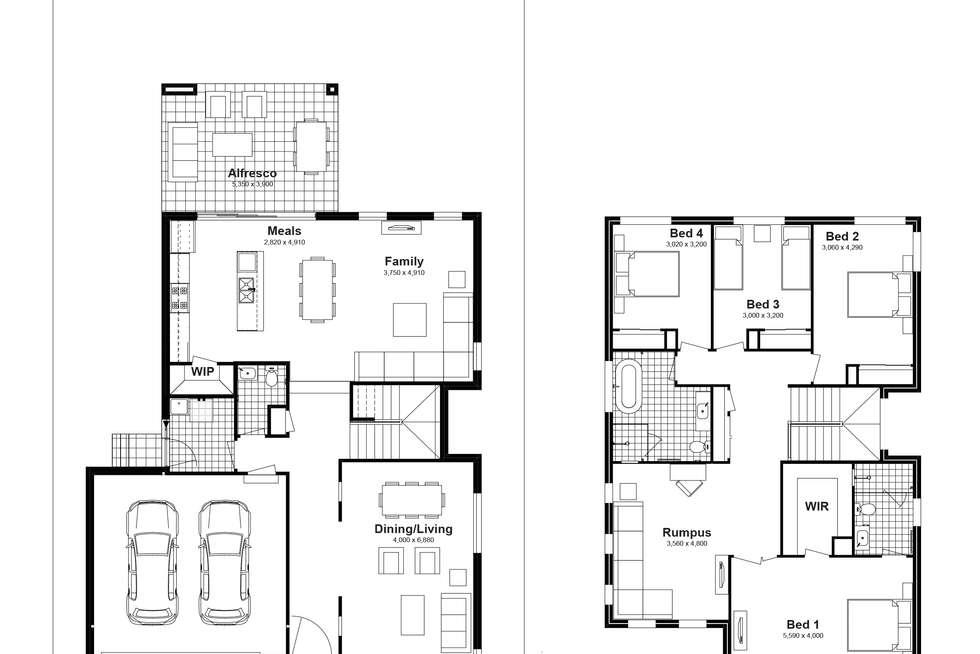 Floorplan of Homely house listing, Lot 815 Bodalla Street, Tullimbar NSW 2527