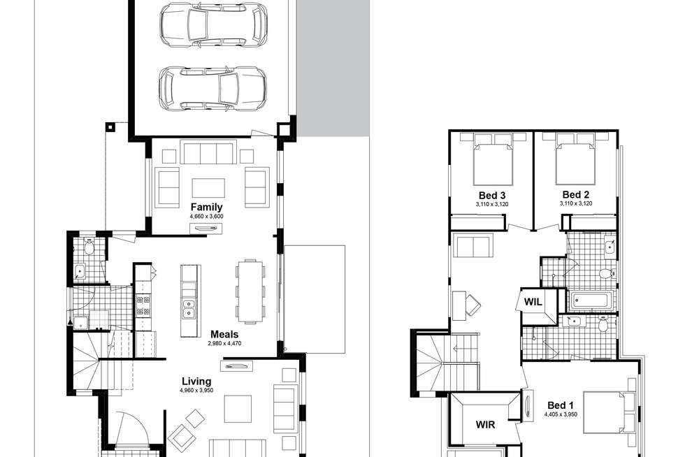 Floorplan of Homely house listing, Lot 519 Bodalla Street, Tullimbar NSW 2527