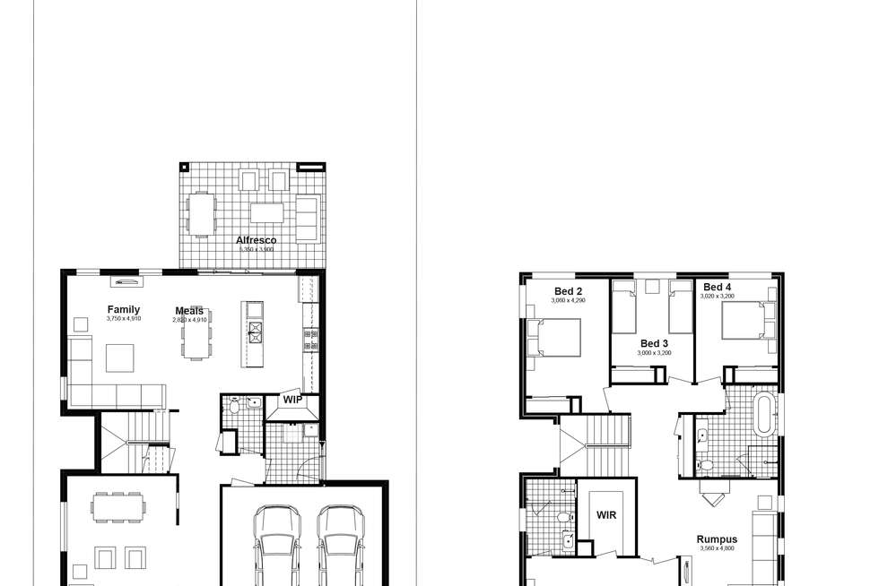 Floorplan of Homely house listing, Lot 409 Billets Way, Box Hill NSW 2765