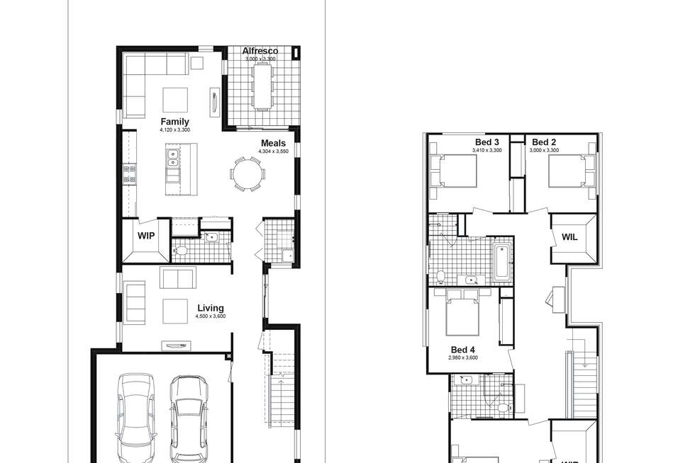 Floorplan of Homely house listing, Lot 283 Springdale St, Marsden Park NSW 2765