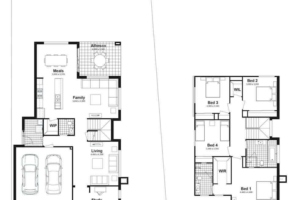 Floorplan of Homely house listing, Lot 284 Springdale Street, Marsden Park NSW 2765