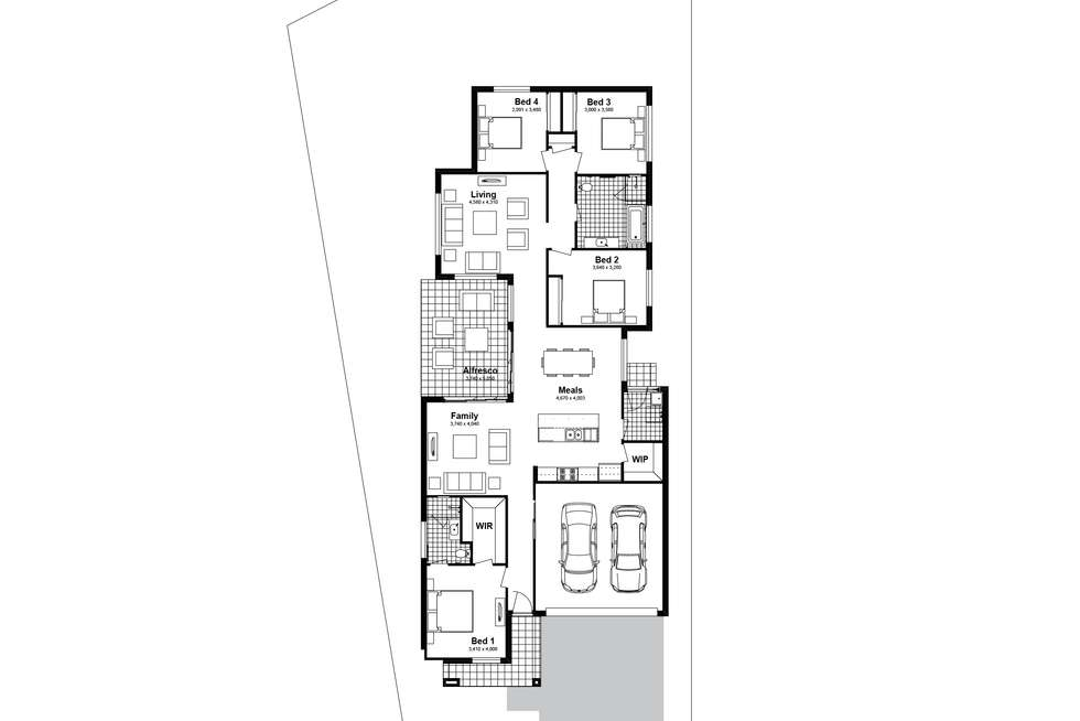 Floorplan of Homely house listing, Lot 2307 Newbridge Street, Chisholm NSW 2322