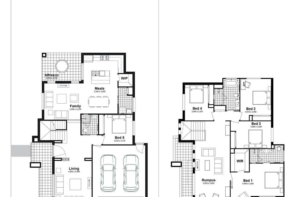 Floorplan of Homely house listing, Lot 813 Narooma Street, Tullimbar NSW 2527