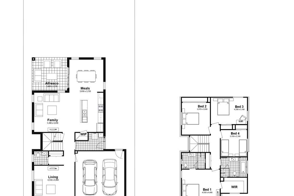 Floorplan of Homely house listing, Lot 413 Billets Way, Box Hill NSW 2765