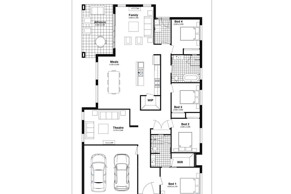 Floorplan of Homely house listing, Lot 224 Ginger Street, Woongarrah NSW 2259