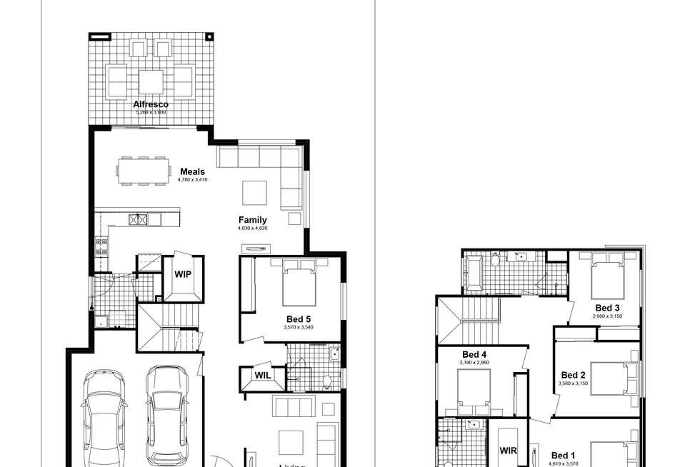 Floorplan of Homely house listing, Lot 720 Sandakan Street, Edmondson Park NSW 2174