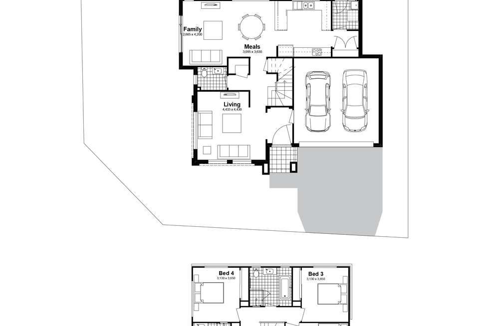 Floorplan of Homely house listing, Lot 285 Abell Road, Marsden Park NSW 2765