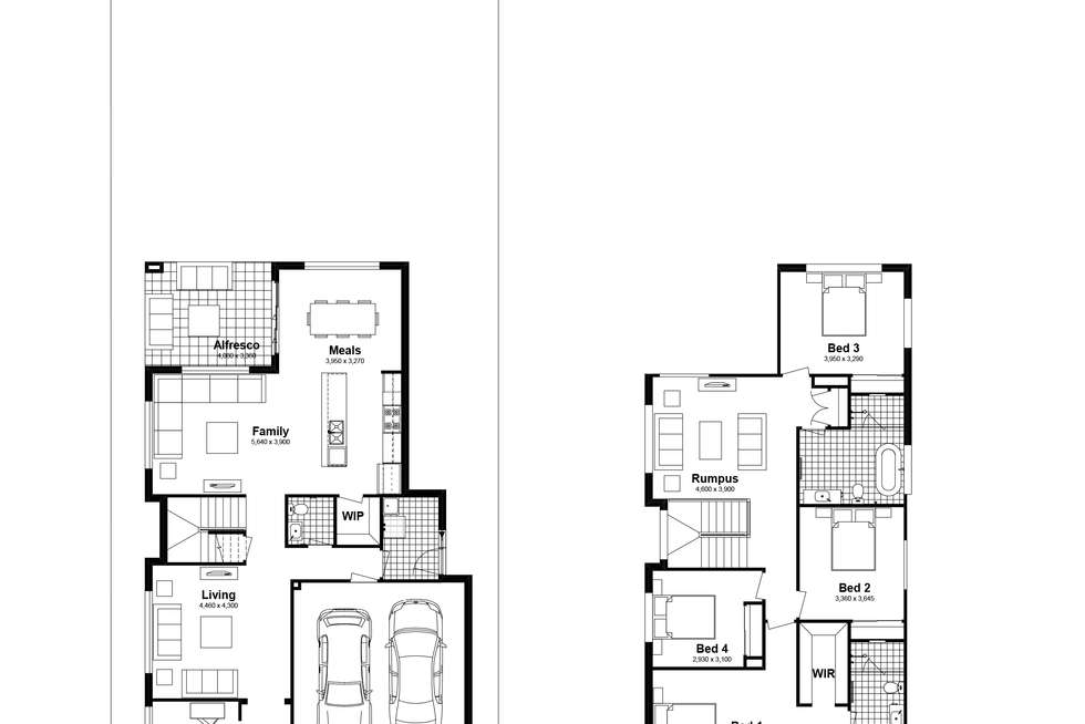 Floorplan of Homely house listing, Lot 411 Billets Way, Box Hill NSW 2765