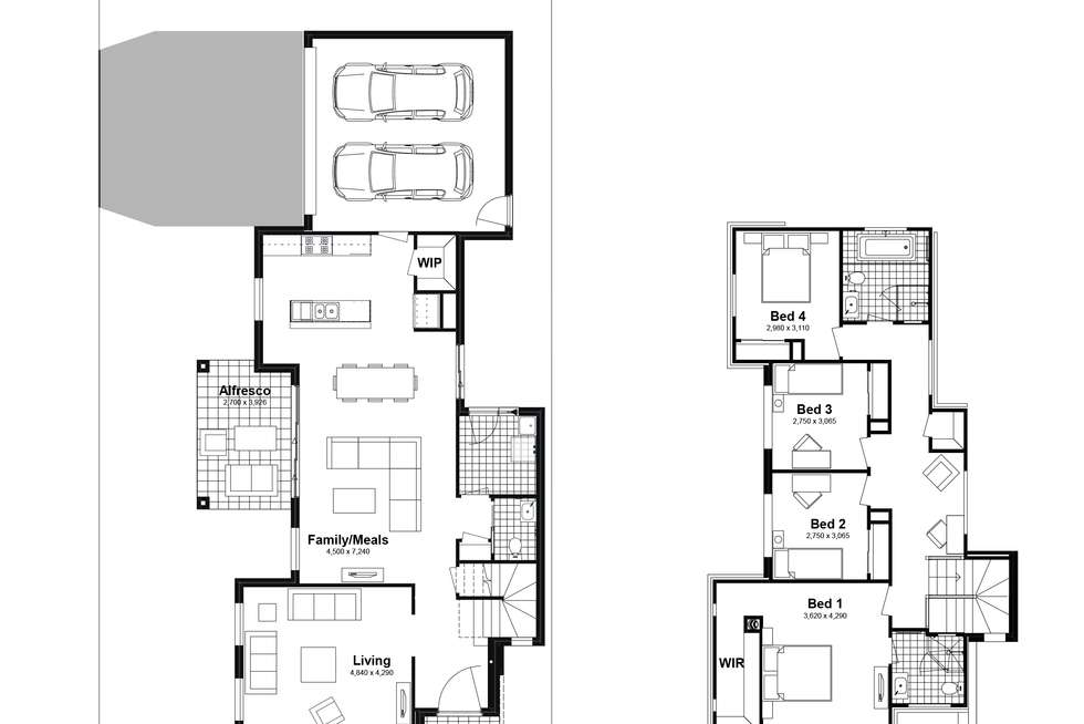 Floorplan of Homely house listing, Lot 404 Rangy Street, Box Hill NSW 2765