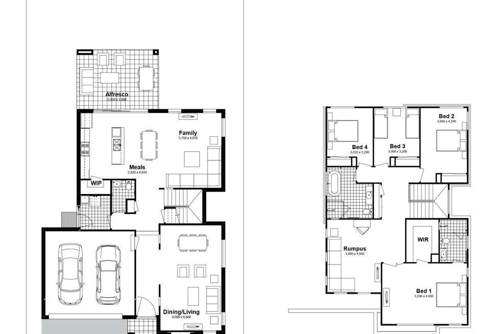 Floorplan of Homely house listing, Lot 818 Bodalla Street, Tullimbar NSW 2527