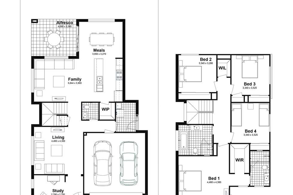 Floorplan of Homely house listing, Lot 417 Rangy Street, Box Hill NSW 2765