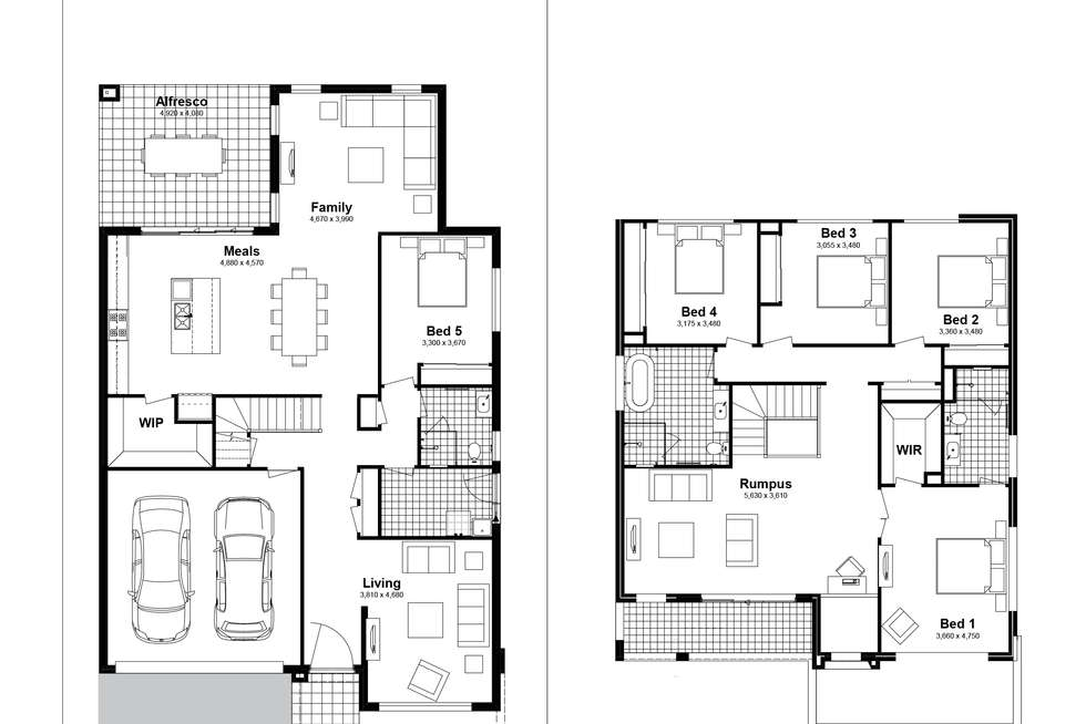 Floorplan of Homely house listing, Lot 402 Rangy Street, Box Hill NSW 2765