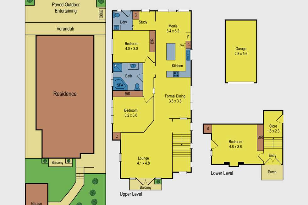 Floorplan of Homely house listing, 465 Moreland Road, Pascoe Vale South VIC 3044