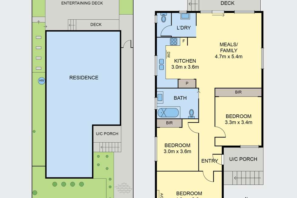 Floorplan of Homely house listing, 455 Moreland Road, Pascoe Vale South VIC 3044