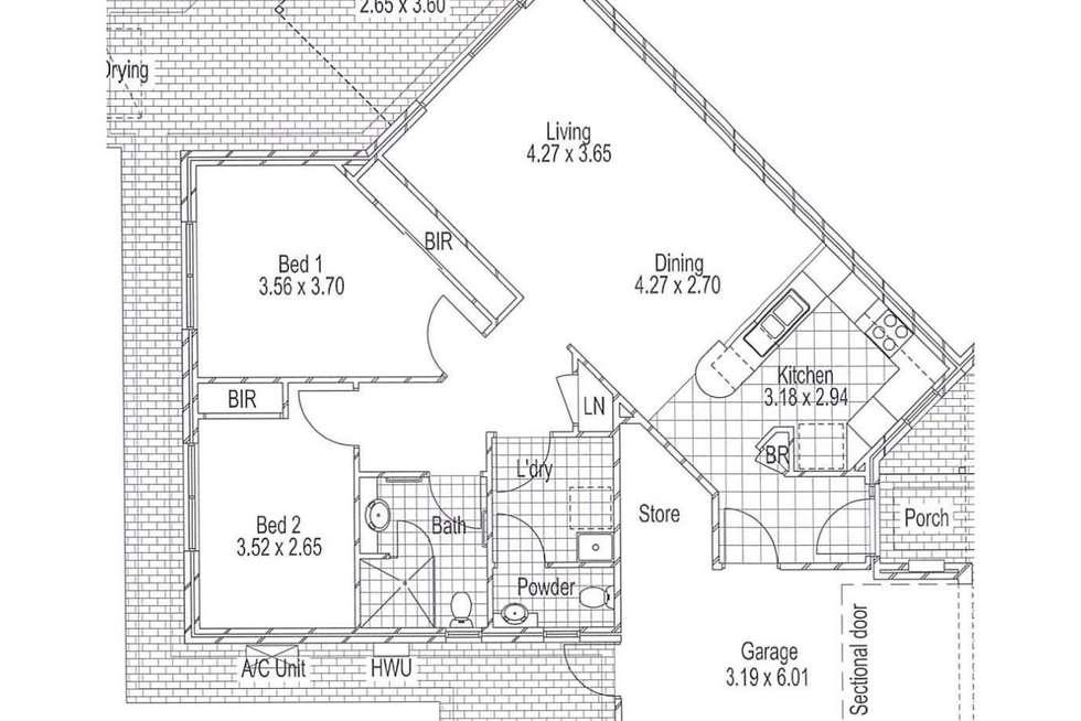 Floorplan of Homely retirement listing, 21/11 Nugent Street, Balcatta WA 6021