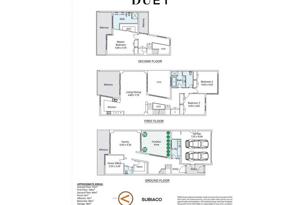 Floorplan of Homely house listing, 32 Rossello Lane, Subiaco WA 6008