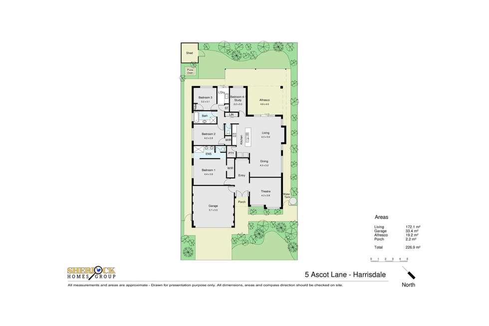 Floorplan of Homely house listing, 5 Ascot Lane, Harrisdale WA 6112