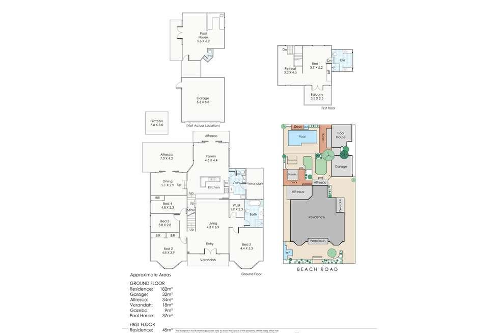 Floorplan of Homely house listing, 50 Beach Road, Watermans Bay WA 6020