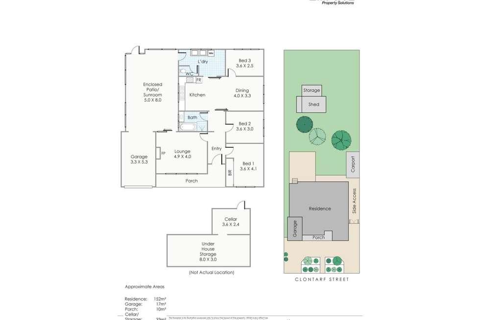 Floorplan of Homely house listing, 209 Clontarf Road, Hamilton Hill WA 6163