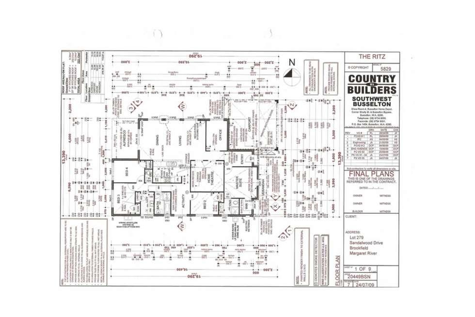 Floorplan of Homely house listing, 19 Sandalwood Drive, Margaret River WA 6285