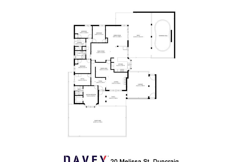 Floorplan of Homely house listing, 20 Melissa Street, Duncraig WA 6023