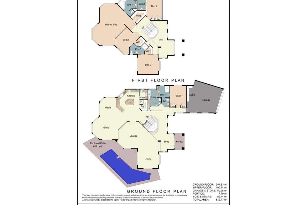 Floorplan of Homely house listing, 6 Ibiza Court, Mindarie WA 6030