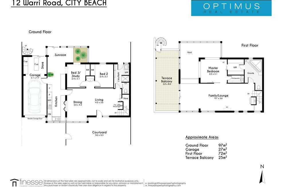 Floorplan of Homely house listing, 12 Warri Road, City Beach WA 6015