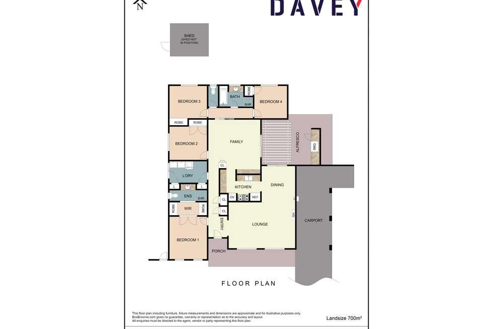 Floorplan of Homely house listing, 21 Alder Way, Duncraig WA 6023