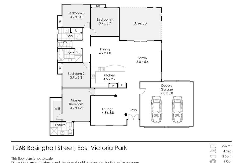 Floorplan of Homely house listing, 126B Basinghall Street, East Victoria Park WA 6101