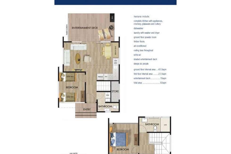 Floorplan of Homely unit listing, 5/7 Panorama Drive, Preston Beach WA 6215