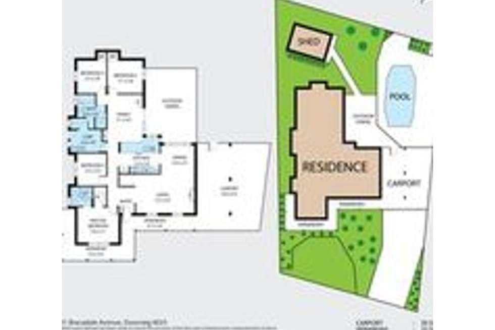 Floorplan of Homely house listing, 31 Bracadale Avenue, Duncraig WA 6023