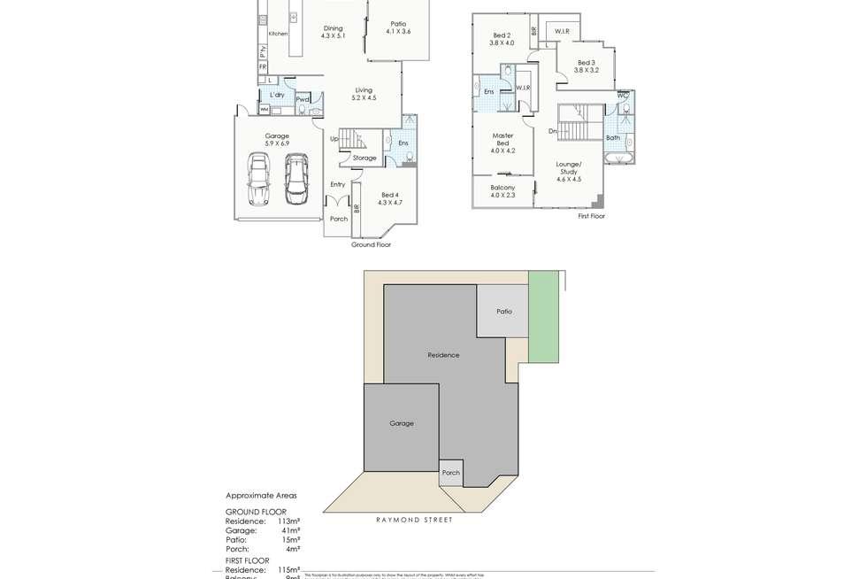Floorplan of Homely house listing, 65B Raymond Street, Yokine WA 6060