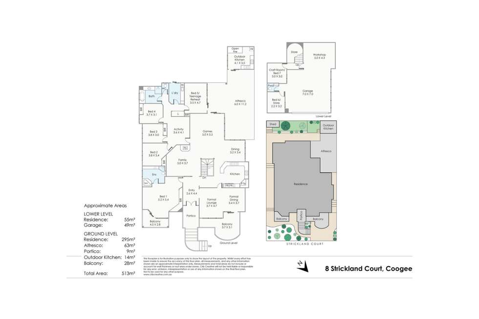 Floorplan of Homely house listing, 8 Strickland Court, Coogee WA 6166