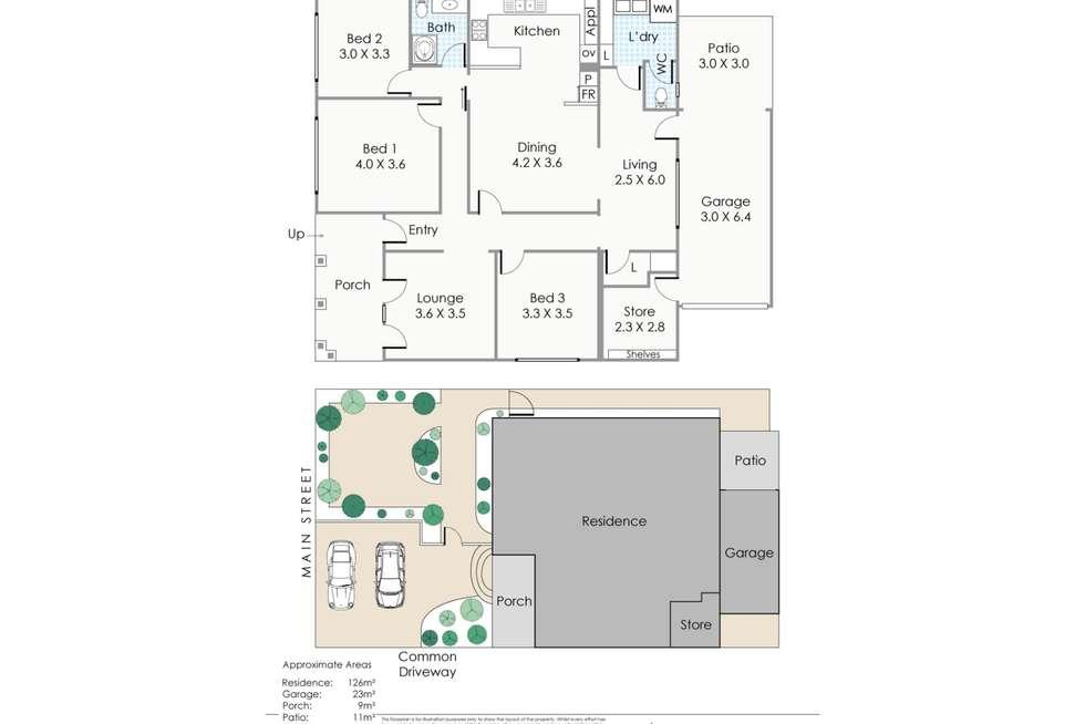 Floorplan of Homely house listing, 1/80 Main Street, Osborne Park WA 6017