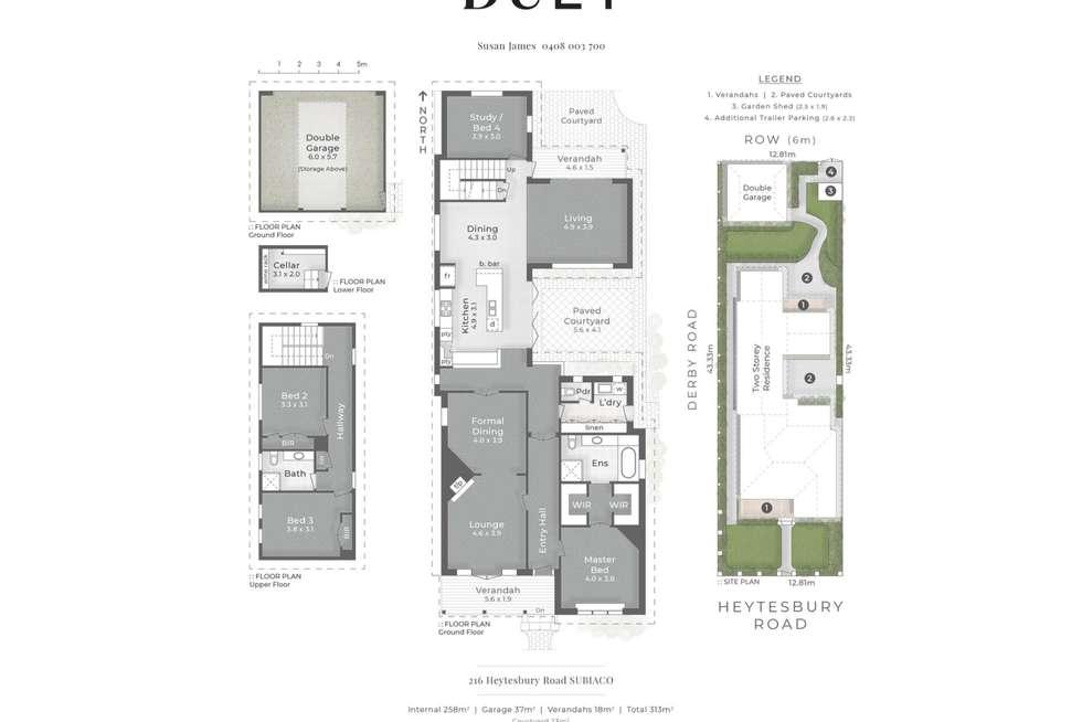 Floorplan of Homely house listing, 216 Heytesbury Road, Subiaco WA 6008