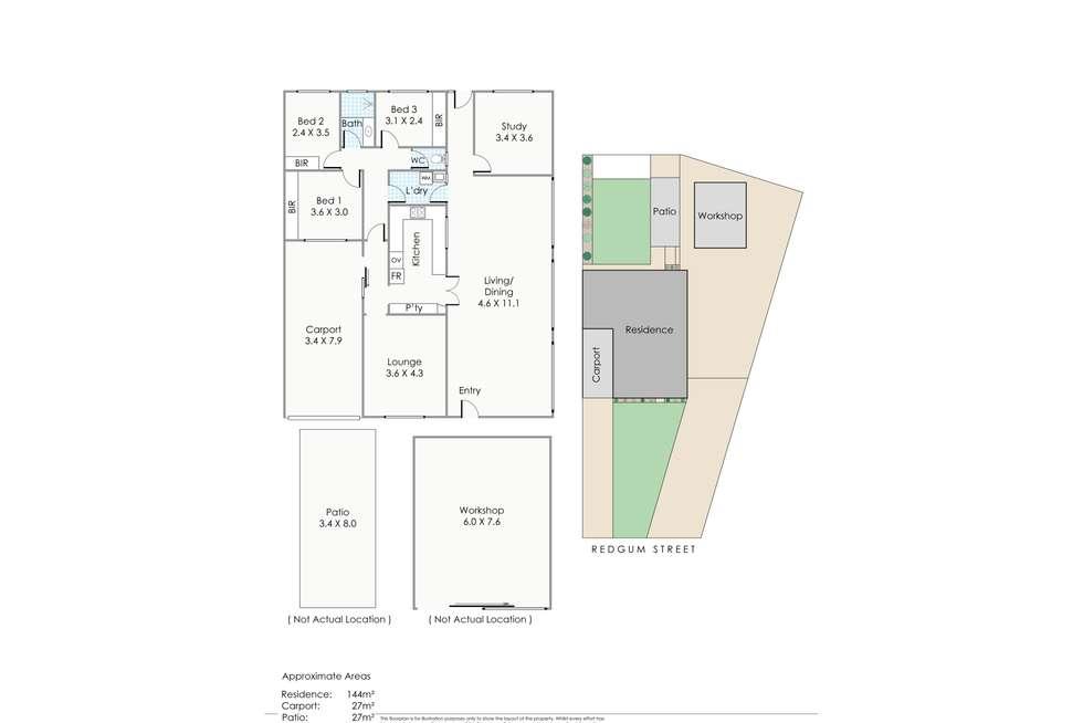 Floorplan of Homely house listing, 17B Redgum Street, Greenwood WA 6024