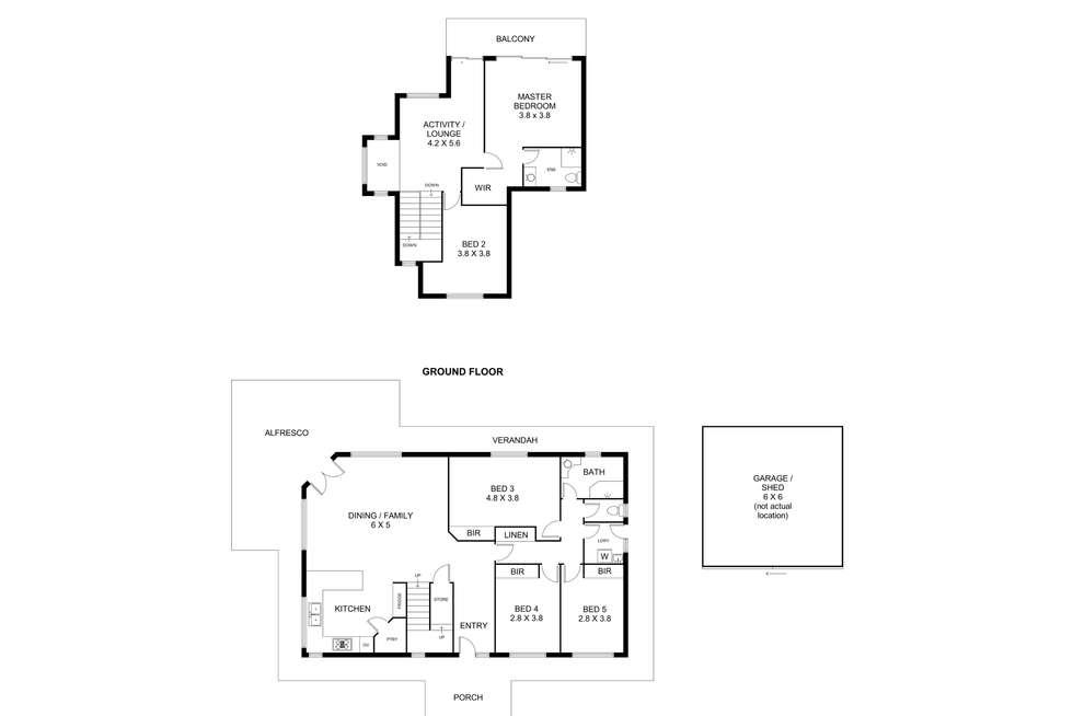 Floorplan of Homely house listing, 17 Glenlea Drive, Helena Valley WA 6056