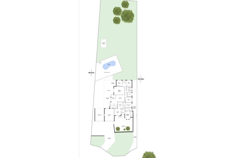 Floorplan of Homely house listing, 1 Bohemia Court, Helena Valley WA 6056