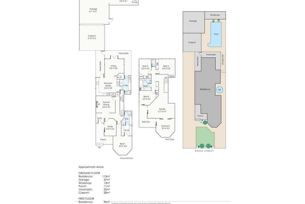 Floorplan of Homely house listing, 3 Rona Street, North Beach WA 6020