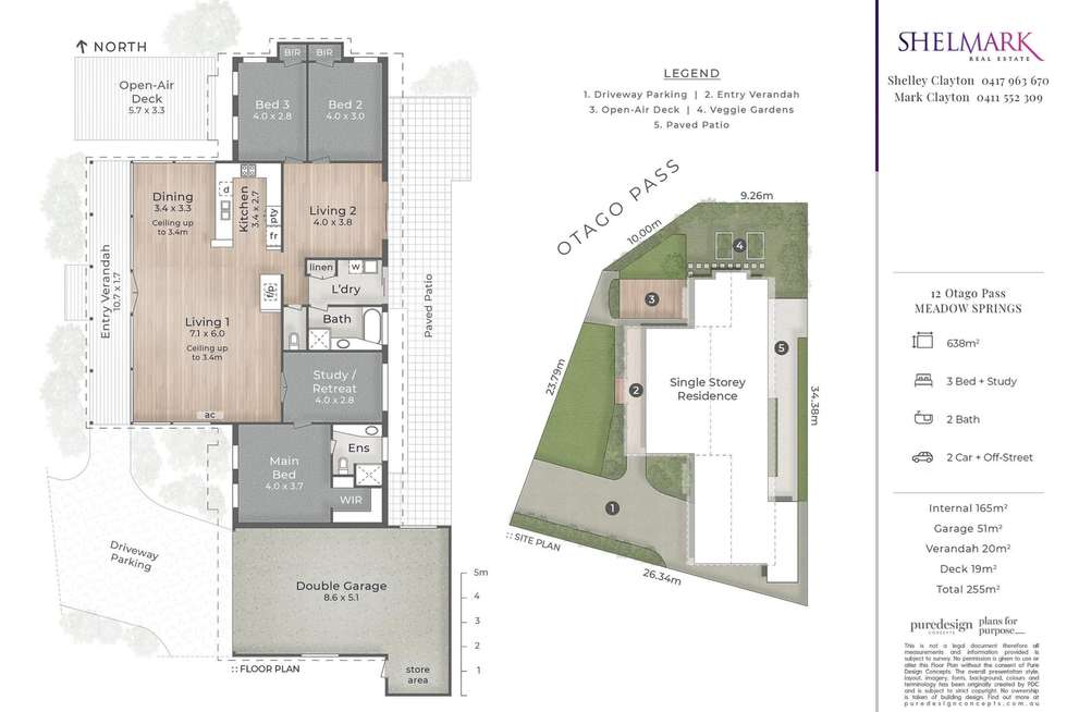 Floorplan of Homely house listing, 12 Otago Pass, Meadow Springs WA 6210