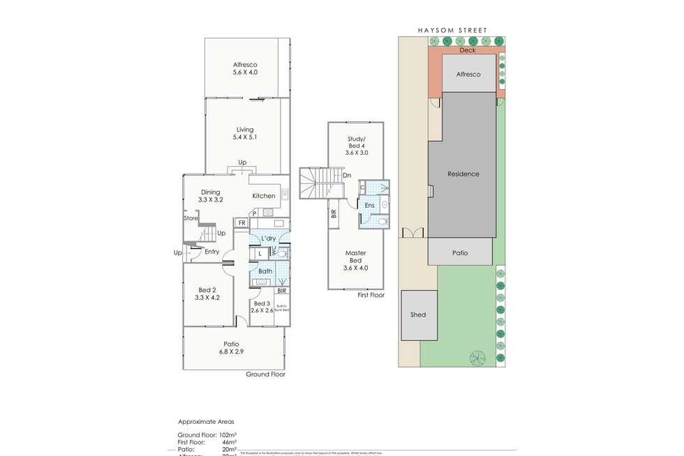 Floorplan of Homely house listing, 14 Haysom Street, Trigg WA 6029
