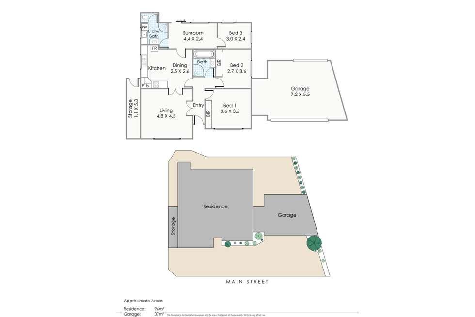 Floorplan of Homely house listing, 388 Main Street, Balcatta WA 6021