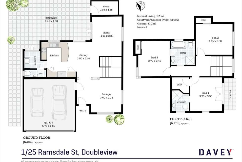 Floorplan of Homely house listing, 1/25 Ramsdale Street, Doubleview WA 6018