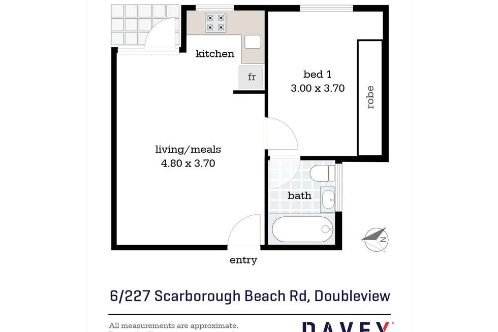 Floorplan of Homely house listing, 6/227 Scarborough Beach Road, Doubleview WA 6018