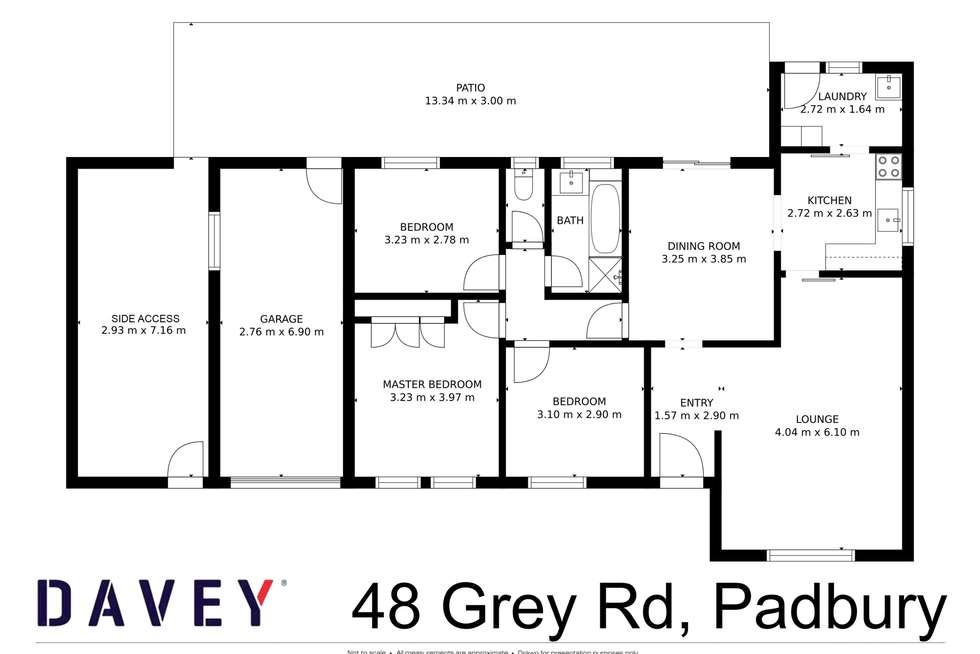 Floorplan of Homely house listing, 48 Grey Road, Padbury WA 6025
