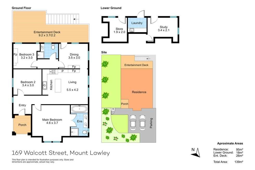 Floorplan of Homely house listing, 169 Walcott Street, Mount Lawley WA 6050