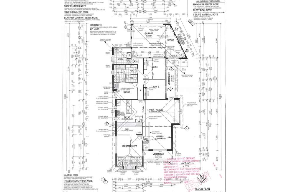 Floorplan of Homely house listing, 37 Riverland Drive, Ellenbrook WA 6069