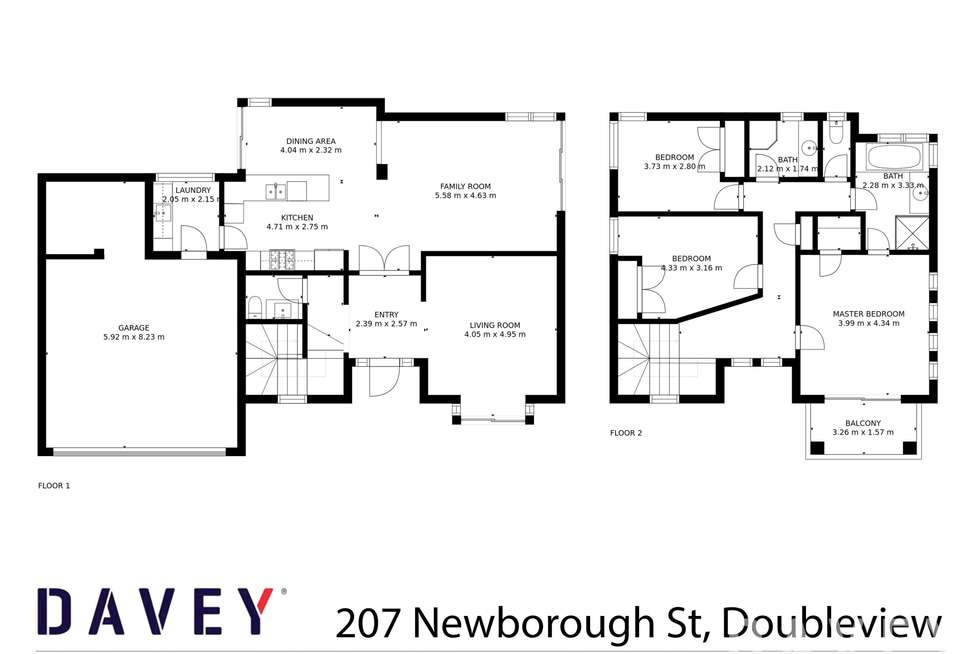 Floorplan of Homely house listing, 207 Newborough Street, Doubleview WA 6018
