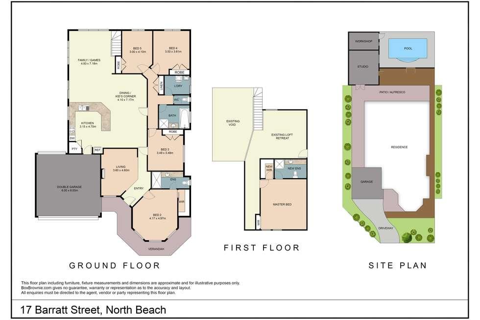 Floorplan of Homely house listing, 17 Barratt Street, North Beach WA 6020