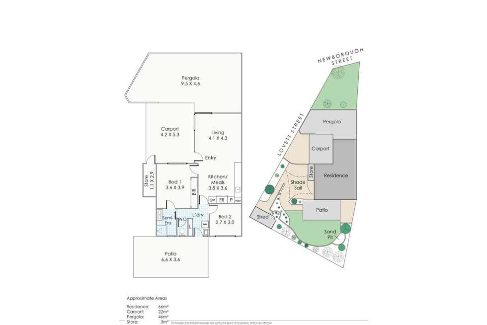 Floorplan of Homely house listing, 2 Lovett Street, Scarborough WA 6019